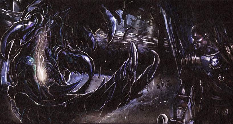 Mortis Rex storyboard art