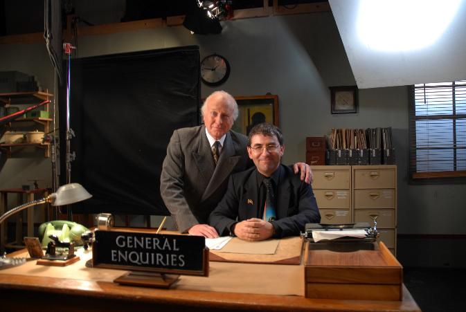 Benjamin Craig and Geoffrey Davies